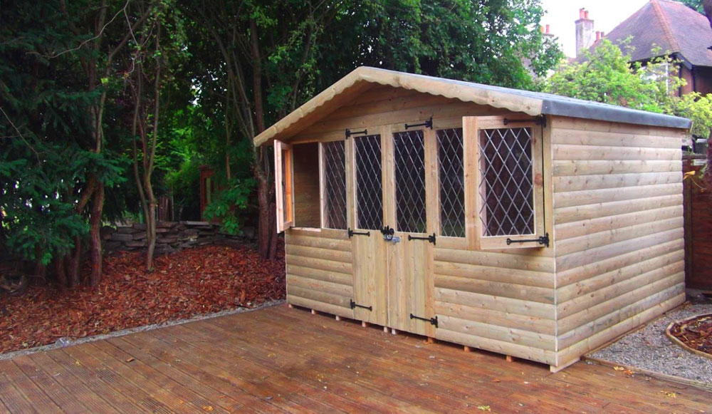 How a shed can help fix your messy garden