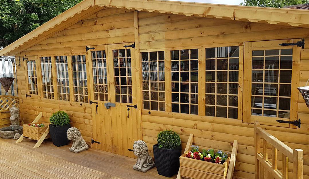 How to take care of your log cabin
