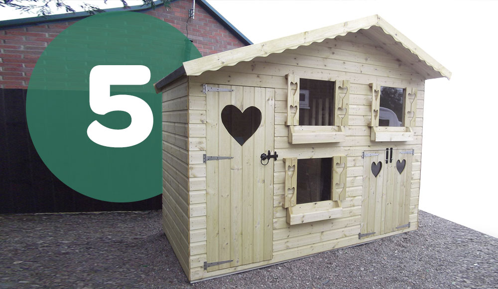 Top Five uses of a shed from Total Sheds