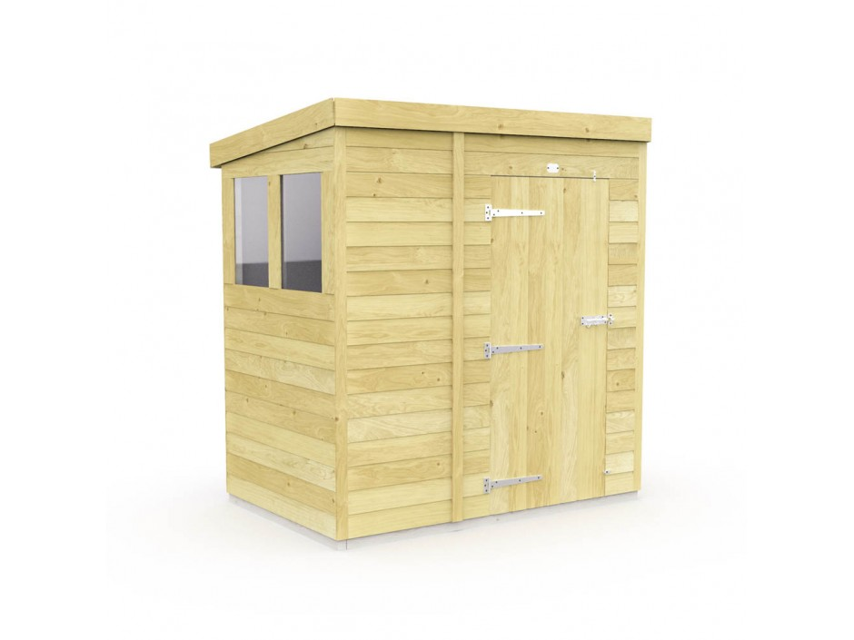 F&F 6ft x 4ft Pent Shed