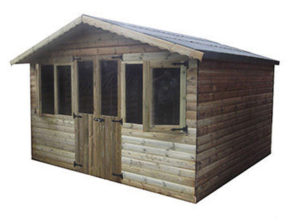 12ft X 12ft Ultimate Log Cabin