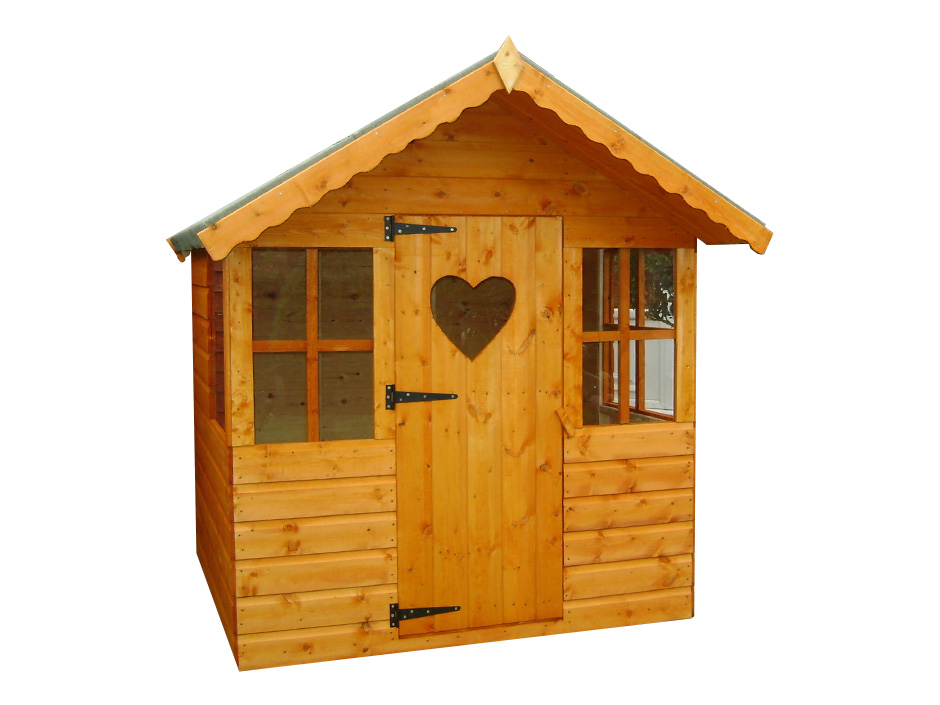 6ft X 4ft Single Storey Playhouse