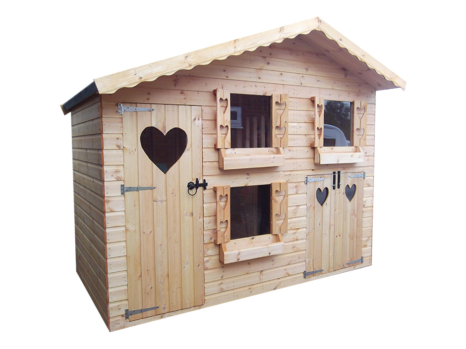 10ft X 6ft Double Storey Playhouse