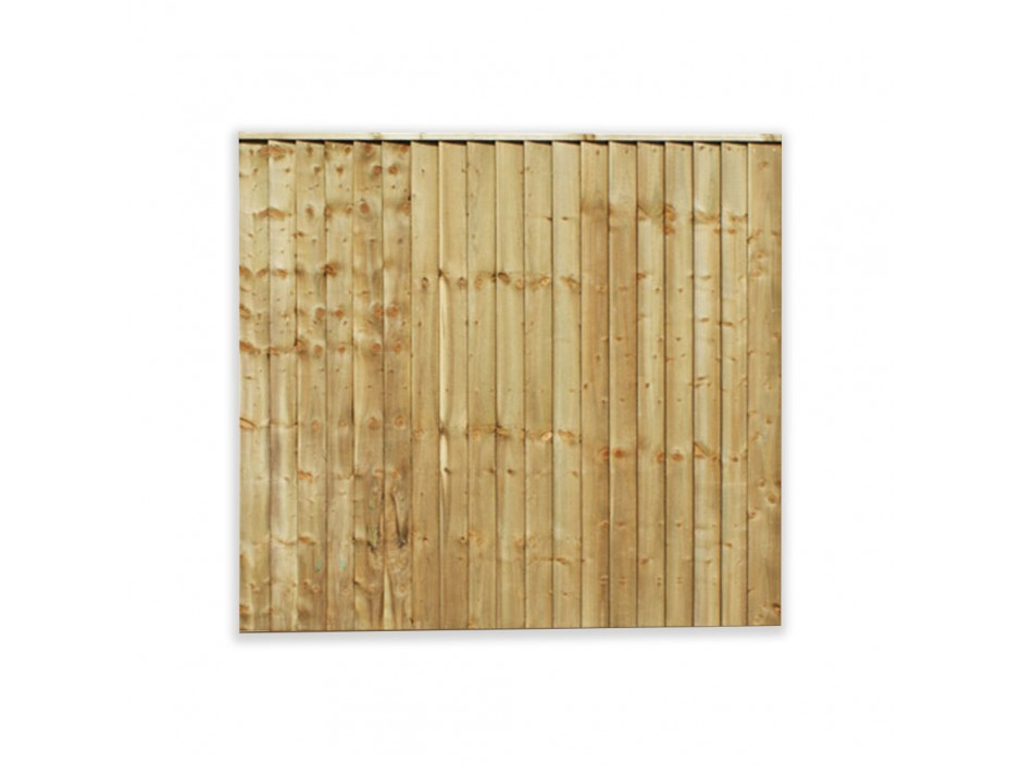 6ft x 3ft Featheredge Closeboard Fence Panel