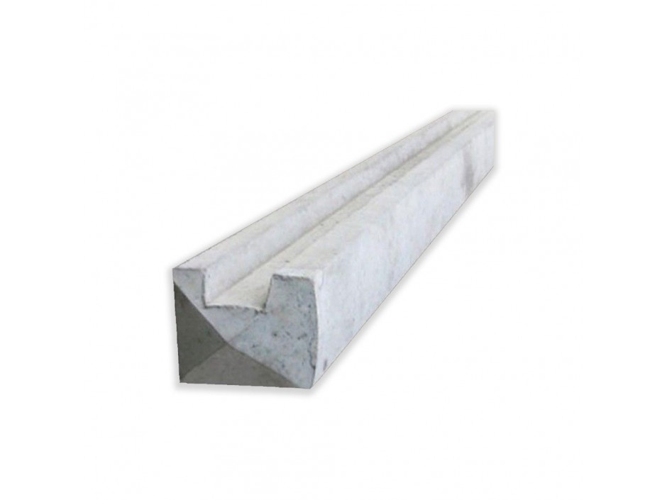 7ft Concrete Reinforced End Posts