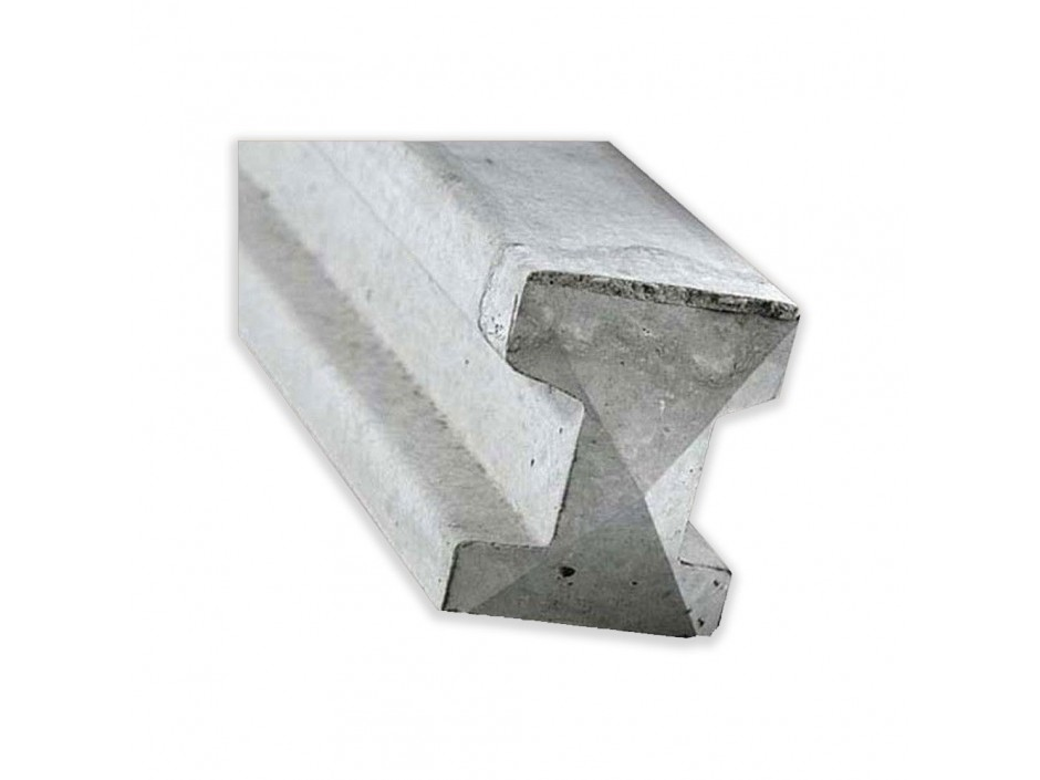 8ft Concrete Reinforced Slotted Posts