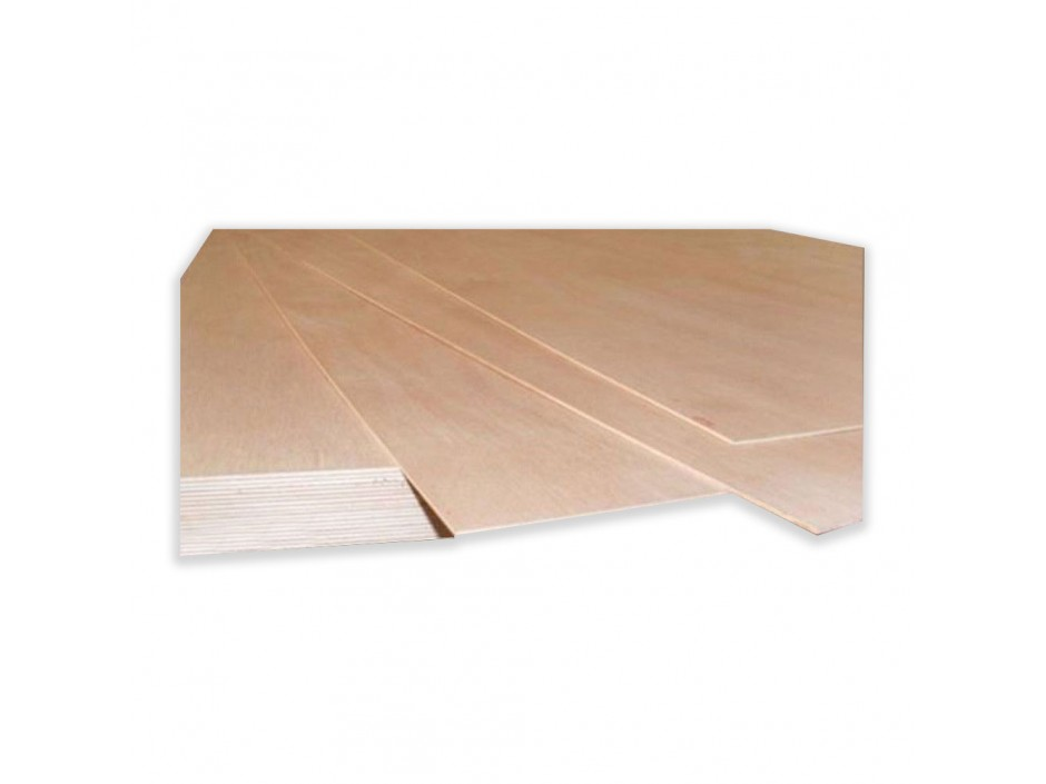 6mm x 2440mm x 1220mm WBP BB/BB Exterior Red Faced Plywood Ply Board