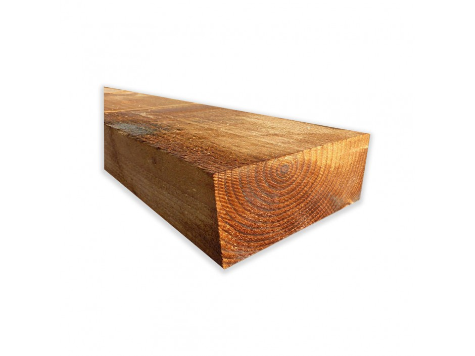 """8ft x 8"""" x 4"""" Pressure Treated Sleepers (Pack of 10)"""