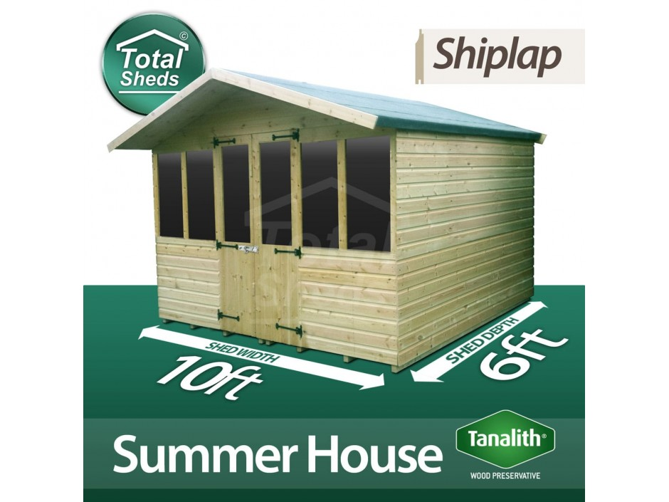 10ft X 6ft Summer House