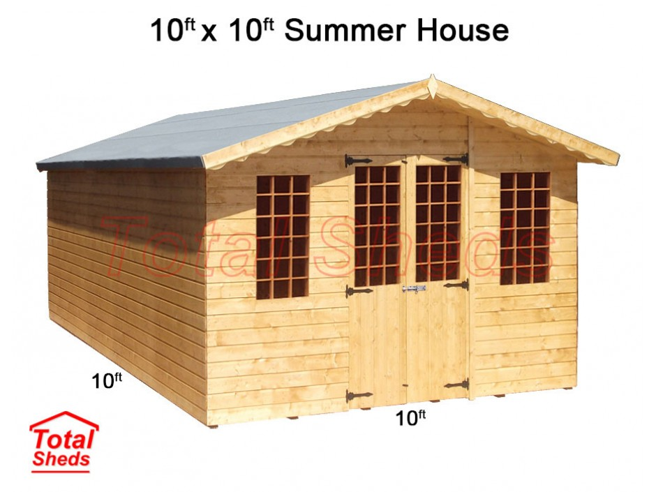 10ft X 10ft Supreme Summer House