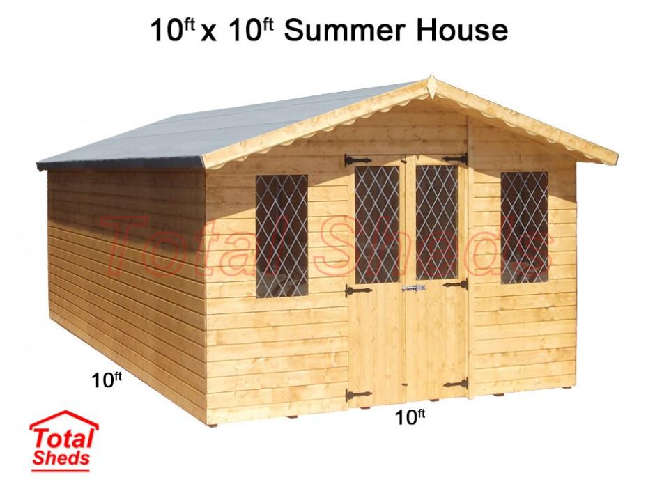 10ft X 10ft Supreme Summer House