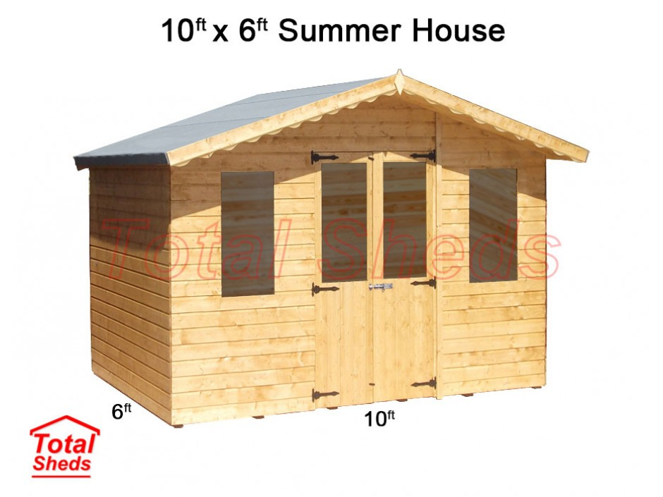 10ft X 6ft Supreme Summer House