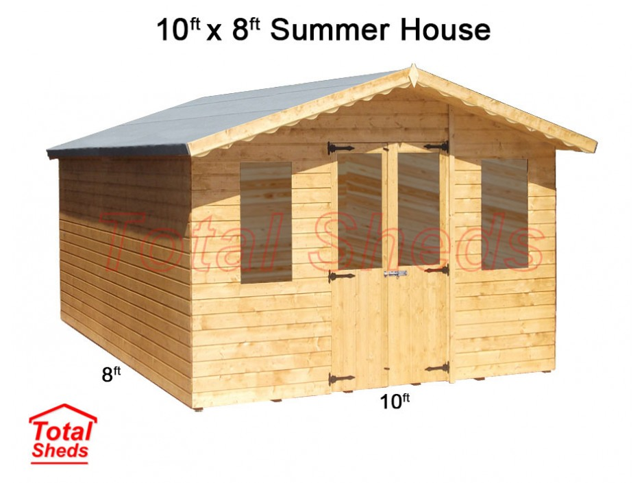 10ft X 8ft Supreme Summer House