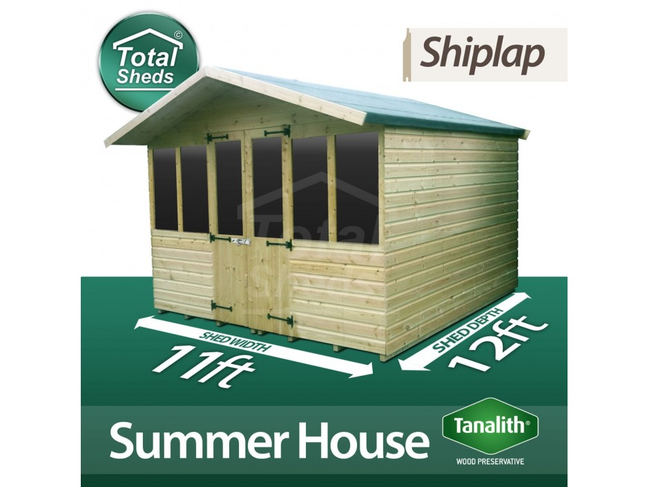 11ft X 12ft Summer House