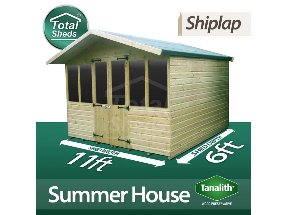 11ft X 6ft Summer House
