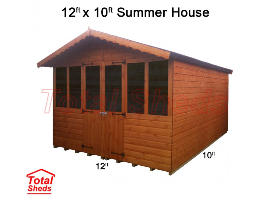 12ft X 10ft Supreme Summer House
