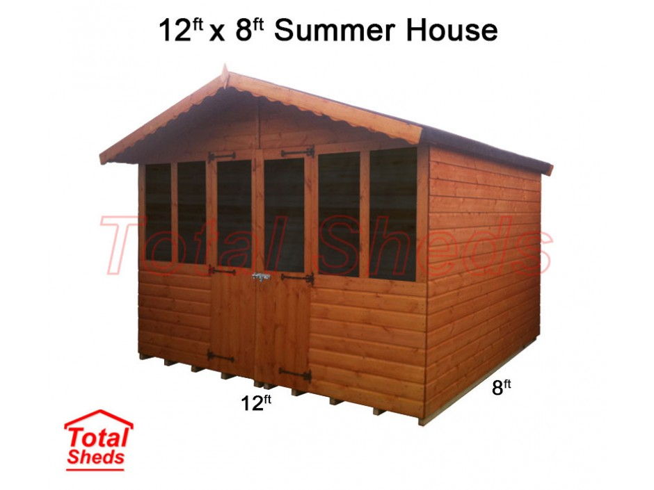 12ft X 8ft Supreme Summer House
