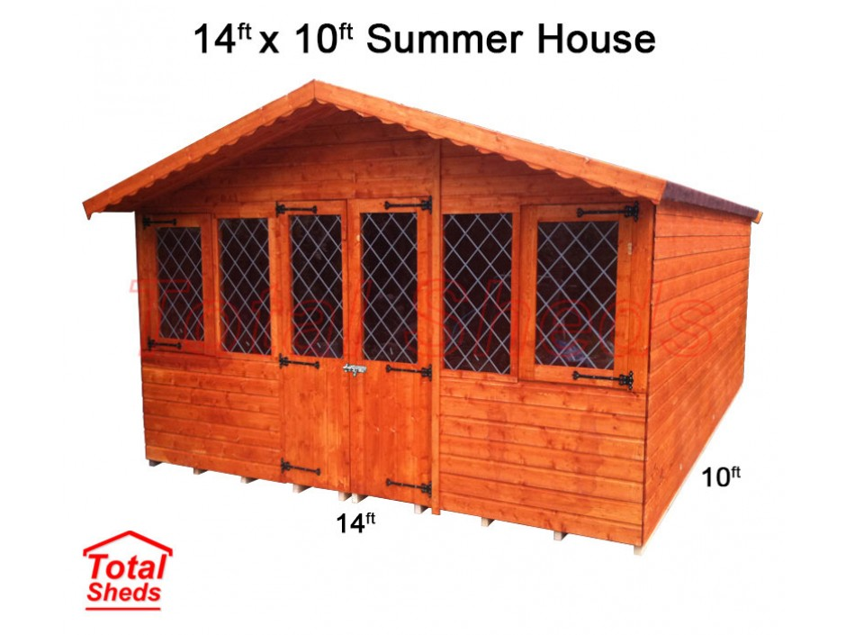 14ft X 10ft Supreme Summer House