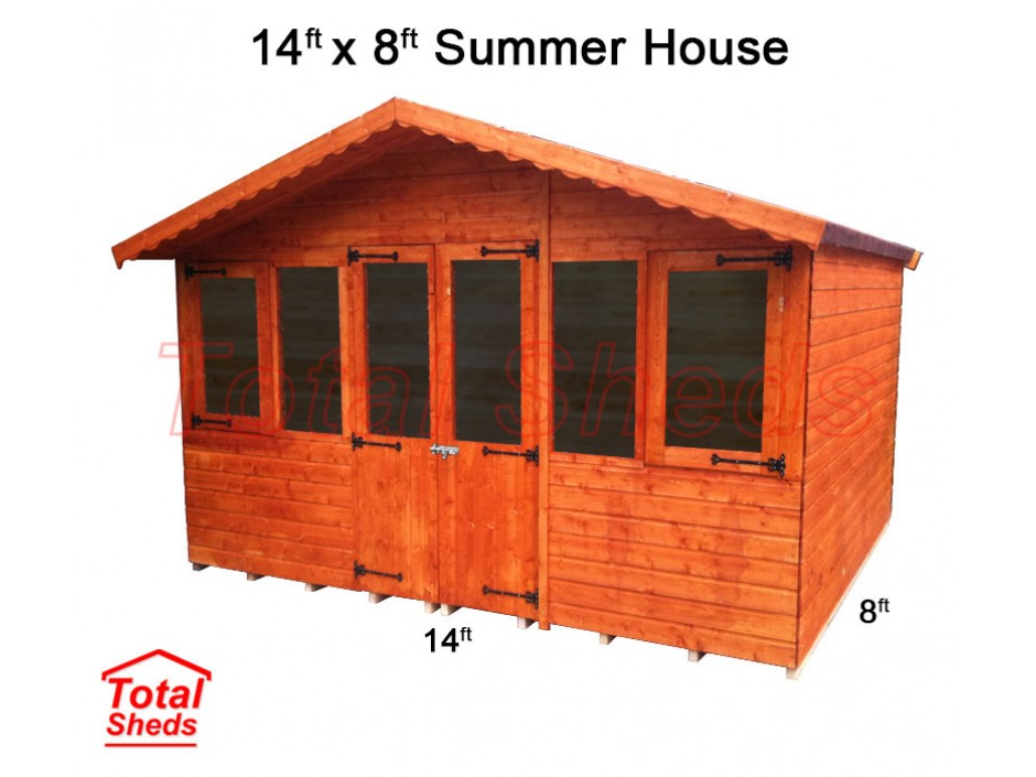 14ft X 8ft Supreme Summer House