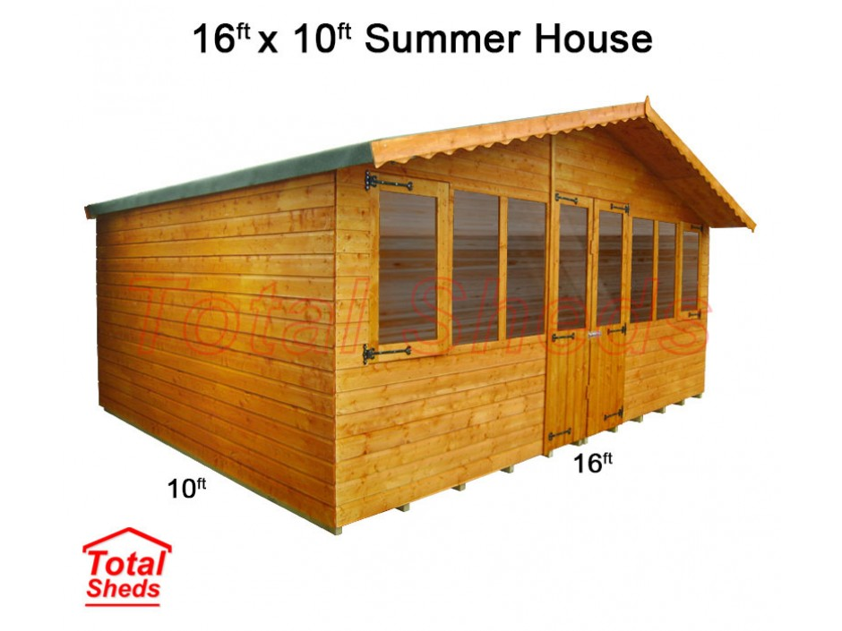 16ft X 10ft Supreme Summer House