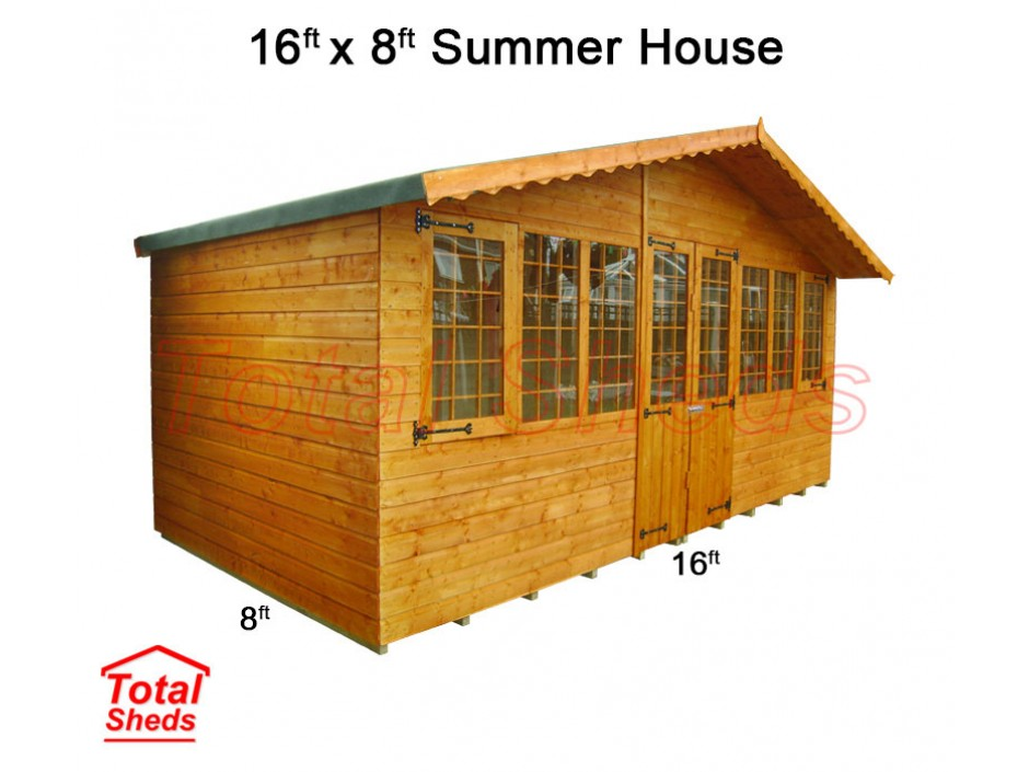 16ft X 8ft Supreme Summer House
