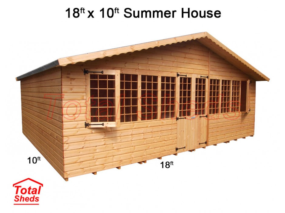 18ft X 10ft Supreme Summer House