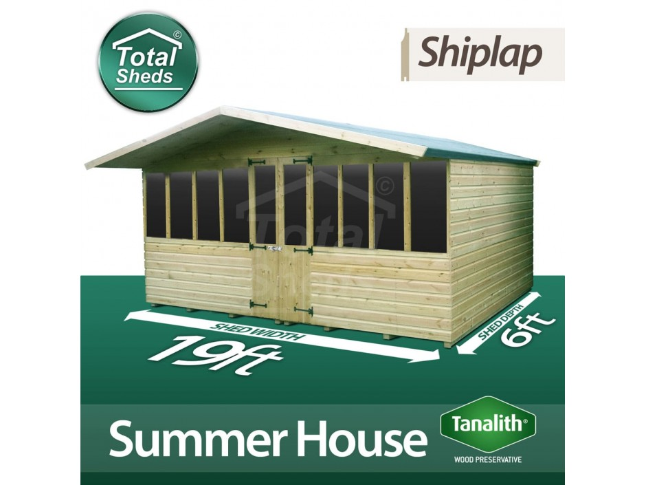 19ft X 6ft Summer House