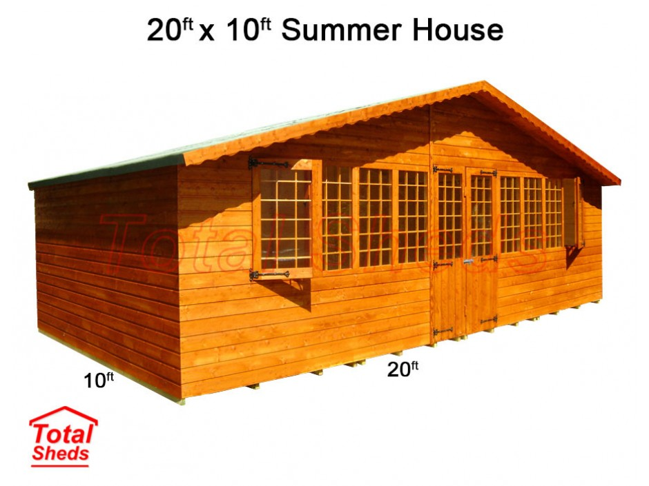 20ft X 10ft Supreme Summer House