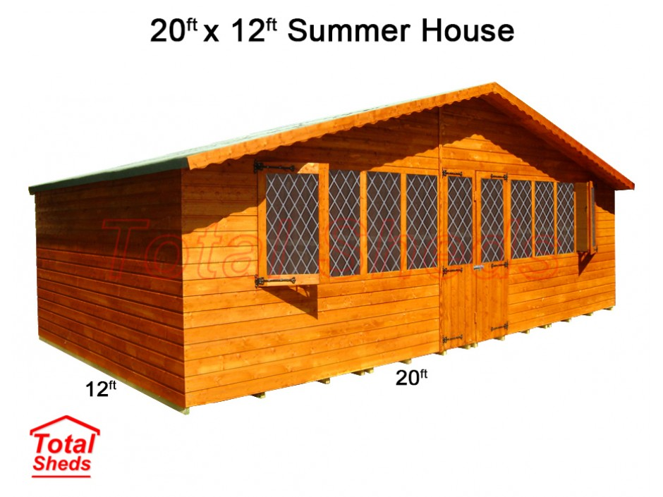 20ft X 12ft Supreme Summer House