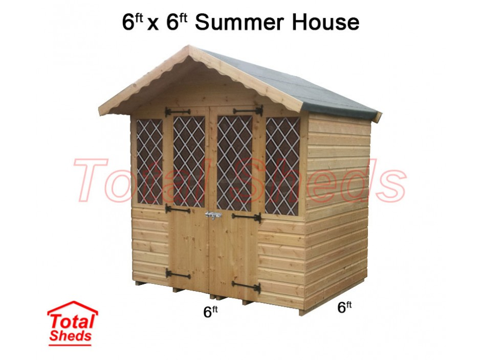 6ft X 6ft Supreme Summer House