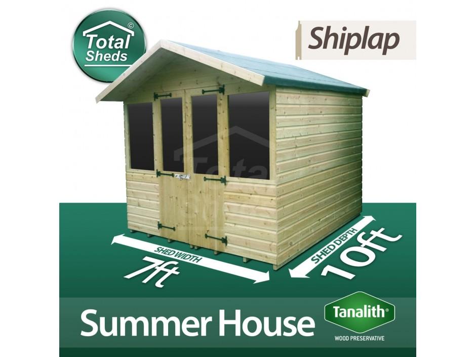 7ft X 10ft Summer House