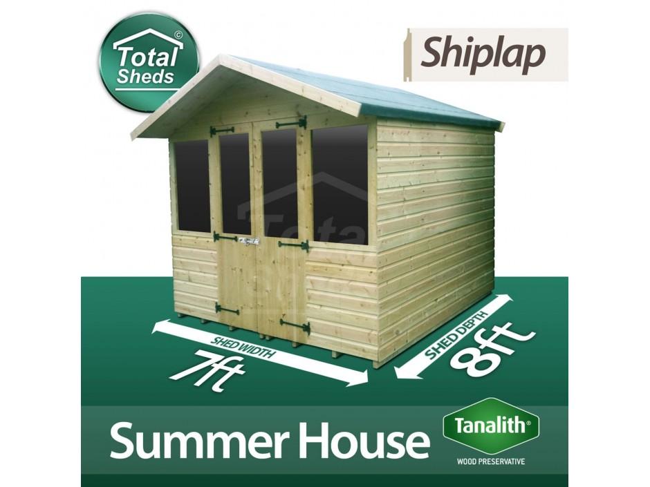 7ft X 8ft Summer House