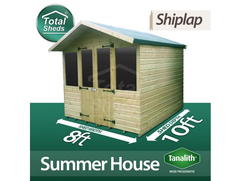 8ft X 10ft Summer House
