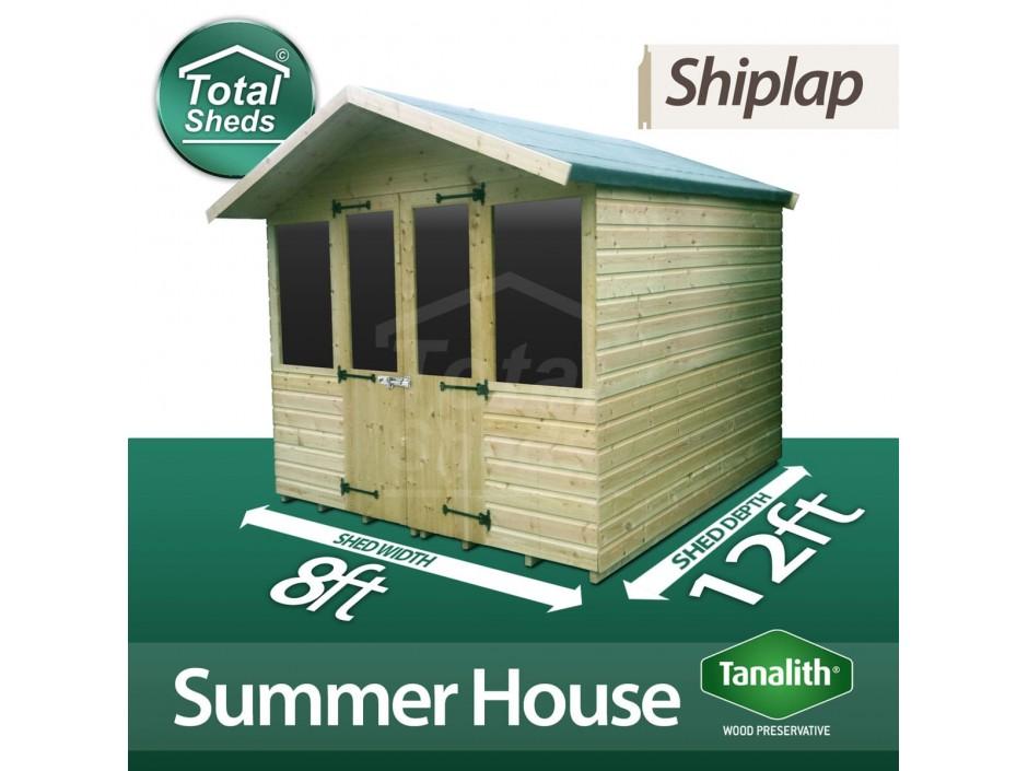 8ft X 12ft Summer House