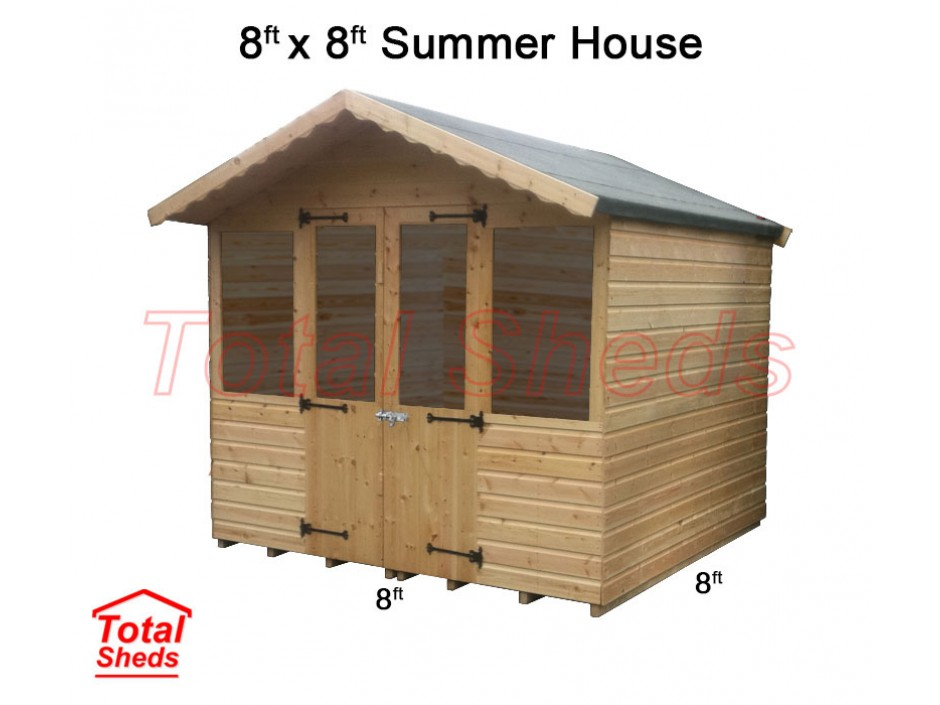 8ft X 8ft Supreme Summer House