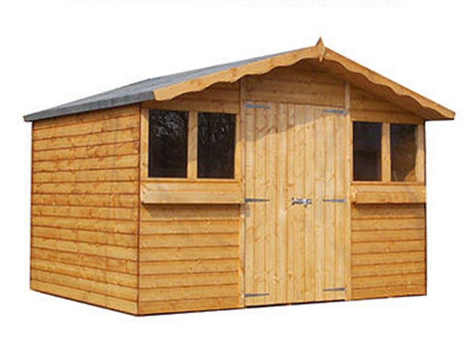 10ft X 6ft Summer Shed