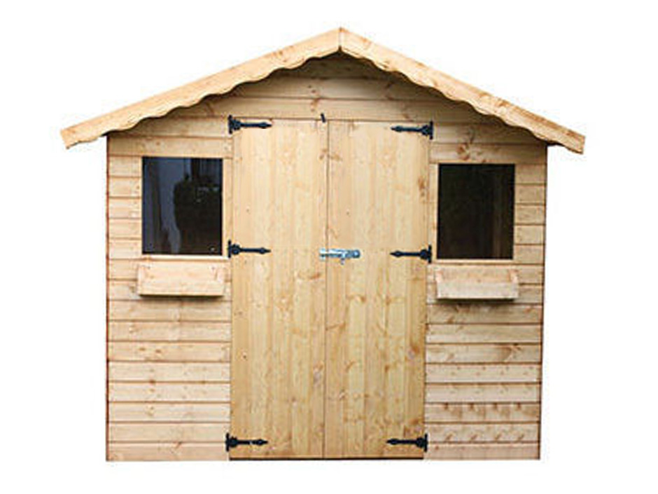 6ft X 6ft Summer Shed