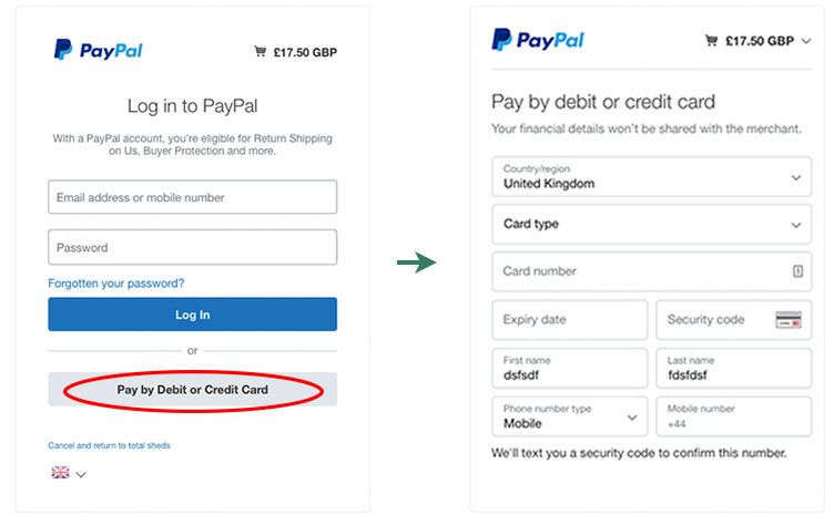 How to pay - Card Payments